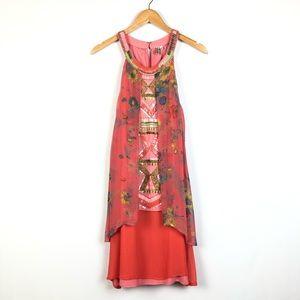 Anthropologie Blank London Beaded Sleeveless Dress